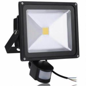 REFLECTOR EN LED CON SENSOR 100W