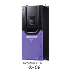 VARIADOR DE FRECUENCIA INVERTEK (IP55) – VECTORIAL TERCERA GENERACIÓN (3GV) – 75 HP / 110 AMP / 440V