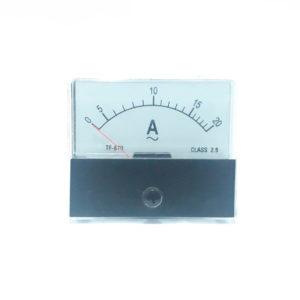 AMPERIMETRO ANÁLOGO 0-20 AMP SPK