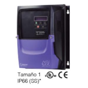 VARIADOR DE FRECUENCIA INVERTEK IP66 (SS) – 1 HP / 4.3 AMP / 220V