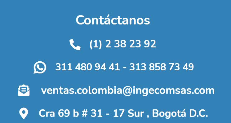 Ingecom Eléctricos Contacto