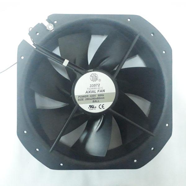 VENTILADOR 220V 280X280X80MM EBCHQ