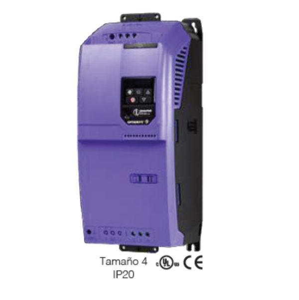 Variador de Frecuencia Invertek 25HP / 72 AMP / 220V