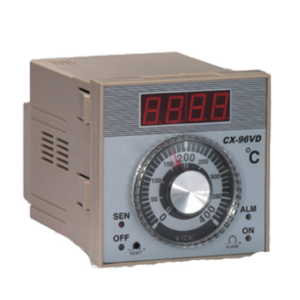 Control de Temperatura Analogo-Digital con perilla 72x72MM