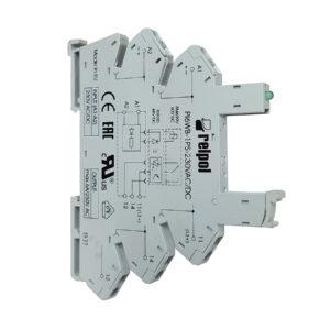 Base para Mini Relevo Relpol de 5 Pines 6A - 12/24V DC - Ingecom Eléctricos SAS